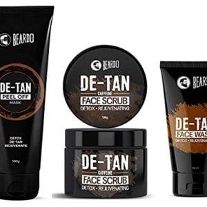Top Beardo De-Tan Face Spa Kit For Men | Gift Set | Made in India