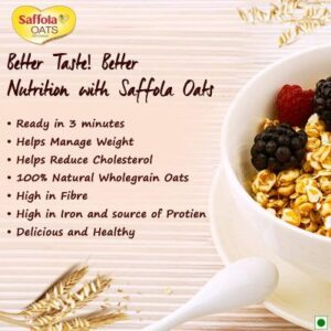 Best Saffola Oats, 1 kg with Free Saffola Oats India
