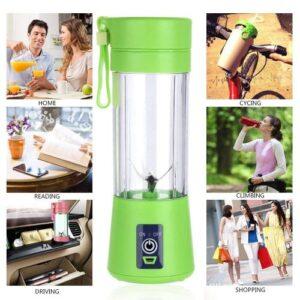 Best Qualimate Portable Electric USB Juice Maker (Juicer)