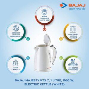 Best Bajaj Majesty KTX7 Cordless Kettle