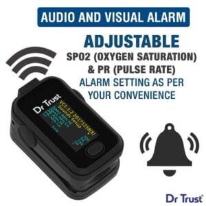 Best Dr Trust Pulse Oximeter With Audio Visual Alarm
